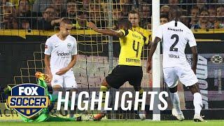 Abdou Diallo scores for Borussia Dortmund vs. Eintracht Frankfurt | 2018-19 Bundesliga Highlights