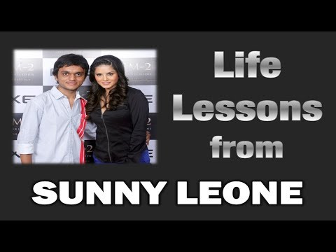 Life Lessons from SUNNY LEONE - Hindi