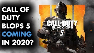 Activision to rush out BLACK OPS 5 in 2020! (Rumor)