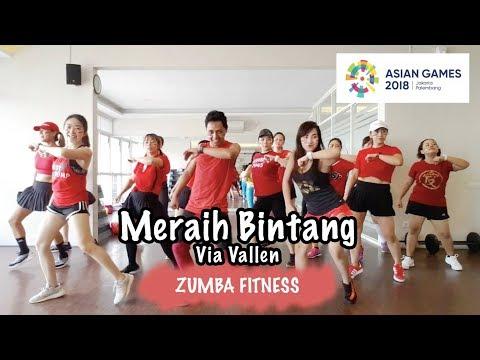 Download MERAIH BINTANG – Via Vallen | ZUMBA FITNESS | Choreo by @rikychao free