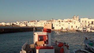 Paros and Antiparos: Travelling to Paradise