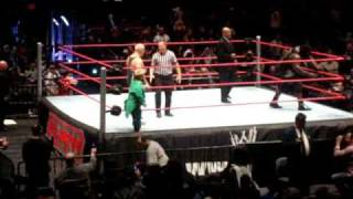 WWE Raw MSG 12/28/08 Opening + Finlay vs Mark Henry Part 1
