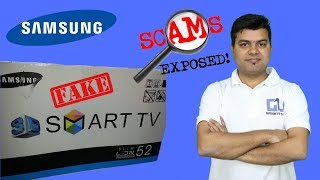 Fake Samsung TV Fraud Exposed, Be Aware, Be Safe #JagoGrahakJago