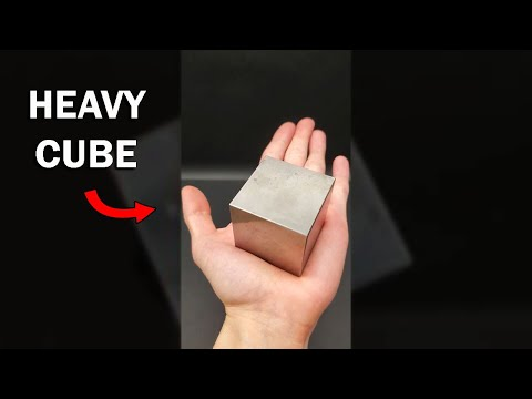 This is a very heavy cube