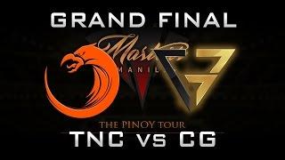 TNC vs CG Grand Final PH Manila Masters 2017 Highlights Dota 2 - Part 1