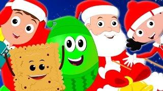 Jingle Bells Christmas Nursery Rhymes | Baby Rhymes kids Songs