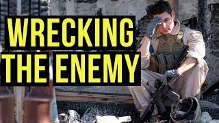Straight Wrecking the Enemy | Desert Fox Events Battle For Lost Angeles (KRYTAC LVOA-C)