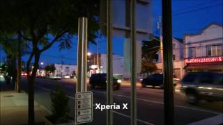 Sony Xperia X vs LG G5 Camera Video Test Low Light