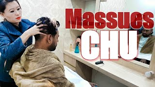Asmr head massage by massues CHU Episode -2