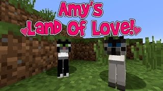 Amy's Land Of Love! Ep.119 A New Feline Friend!   Minecraft   Amy Lee33