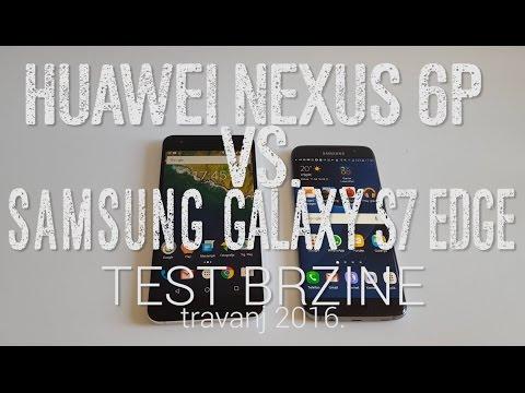 Nexus 6P vs. Galaxy S7 edge - Test brzine