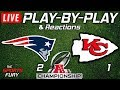 Download Video Download Patriots vs Chiefs | Live Play-By-Play & Reactions 3GP MP4 FLV