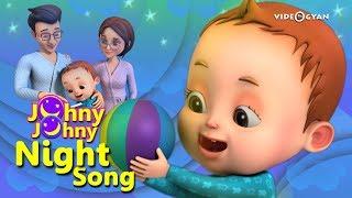 Johny Johny Yes Papa - Night Song | Baby Ronnie | Nursery Rhymes Kids Songs | Johnny Johnny
