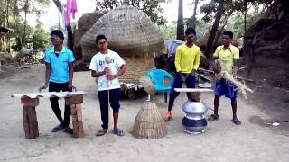 Santali Dj Comedy dance || Dj Mocha alom gosoya || New Santali Song Video Dance