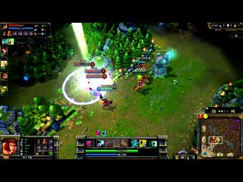 league of legend 1level teamfight counterattack