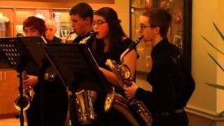 BD Saxophone Quartet - Silent Night (12/19/2015)