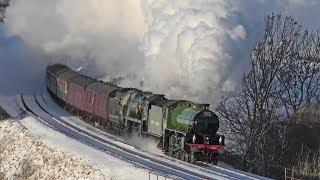 35018 & 61306 - The Winter Cumbrian Mountain Express - 2.2.19