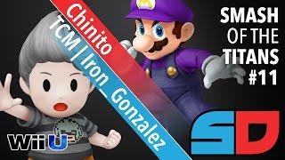 Smash of the Titans #11 - Pool 3: TCM|Iron_Gonzalez (Lucas) vs Chinito (Mario)