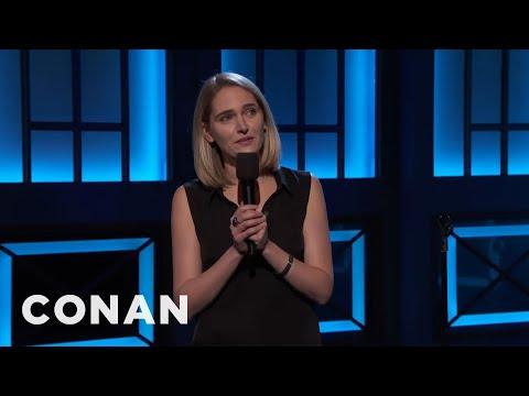 Jena Friedman: Treat Nazis Like You Treat Women  - CONAN on TBS