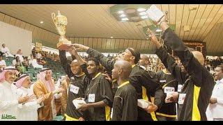 الاتحاد يسحق الاهلي في نهائي كأس الامير فيصل بن فهد لكرة السلة 2004 الدقائق الاخيرة عيش مع الجمهور