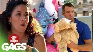 Carnival Game Stuffed Animal Explodes