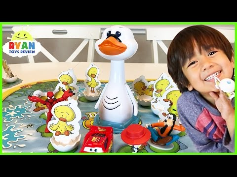 Duck Duck Goose game for kids Family Fun Game Night Egg Surprise Toys