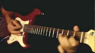 Pani da rang ....Guitar Instrumental ...Please use headphones for better sound...{:-)