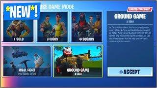 "*NEW* ""PLAYGROUND"" LTM in Fortnite Battle Royale! (*NEW* Fortnite ""Playground"" GAME MODE)"