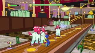 The Simpsons Game (Xbox 360) ~ Level 15: Five Characters in Search of an Author (Collectables)
