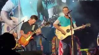 Coldplay w/ Michael J Fox - Earth Angel and Johnny B. Goode