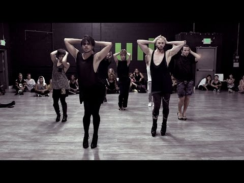 "Brian Friedman & Yanis Marshall Heels Choreography Britney Spears ""Breathe On Me"""