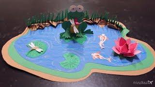 Kids Crafts_Paper Pond