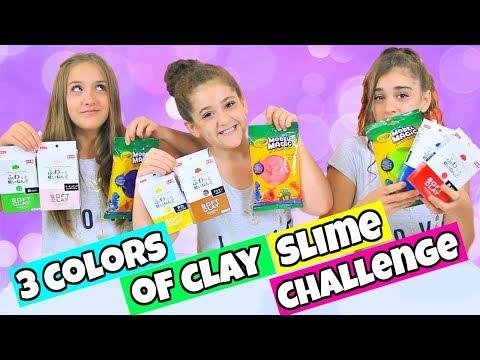 Xxx Mp4 3 Colors Of Clay Slime Challenge Daiso Vs Model Magic Clay Slime 3gp Sex