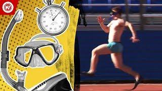 World Record   Fastest 100 Meter Dash