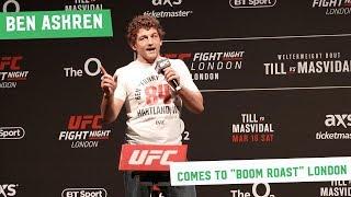 Ben Askren takes on the London Fans at the UFC London Q&A