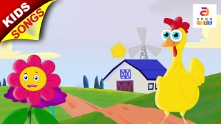 New Preschool Song | Chicken Song | Phonics song | Kids Rhymes in English