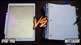 Can an iPad Pro Replace Your Notebook? (iPad Pro vs School Notebook 📚)