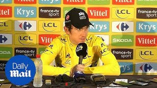 Incredible! Insane! Geraint Thomas on his Tour de France win - Daily Mail