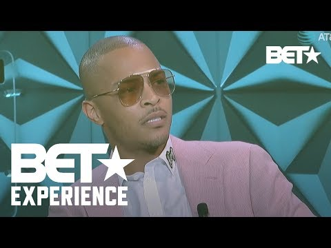 Will T.I. support the NFL? Constitutional Rights and Silent Protests | BETX Genius Talks w/ T.I.