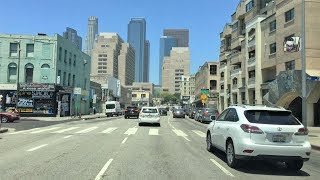 Drive 4K - Downtown To Hollywood - Los Angeles USA