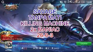ALUCARD SAVAGE TANPA MATI KILLING MACHINE 2X MANIAC PAKE GEAR INI!!!