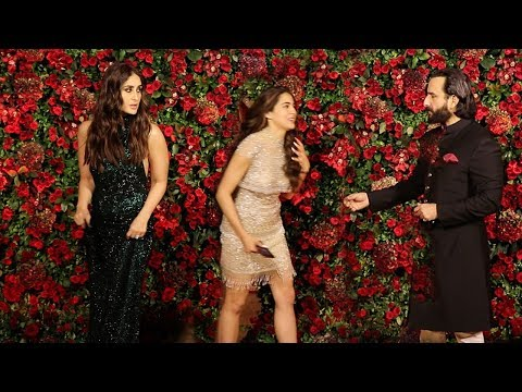 Xxx Mp4 Kareena Kapoor IGNORES Sara Ali Khan In Front Of Saif Ali Khan Ranveer Deepika WEDDING Party 3gp Sex