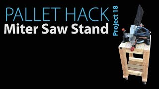 DIY Miter Saw Stand - Project 18