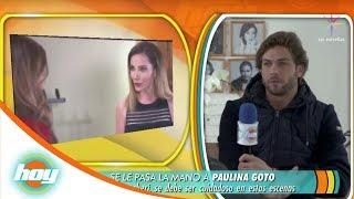 Horacio Pancheri reacciona al puñetazo que le dio Paulina Goto a Elizabeth Álvarez   Hoy