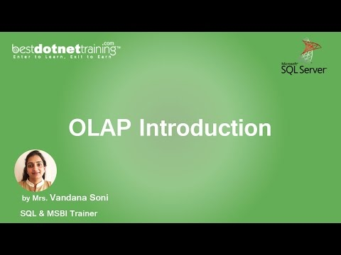 MSBI Tutorial for beginners - OLAP Introduction