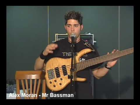 Alex Moran MR BASSMAN