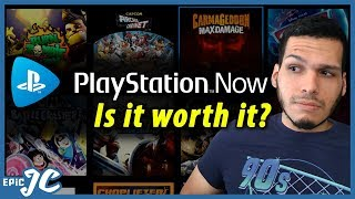 PLAYSTATION NOW GAMEPLAY TEST: Is it Worth It? (Stream and Download Playstation Games)