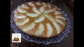 كيكة التفاح الرائعة وببيضة واحدة فقط سهلة وسريعة التحضير