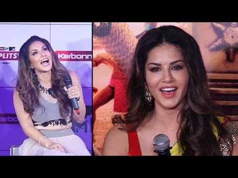 SUNNY LEONE Best FUNNIEST Hindi Speech & Dialogs | Compilation