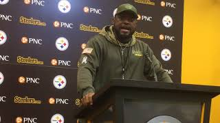 Mike Tomlin scouts reorganized Bengals offense